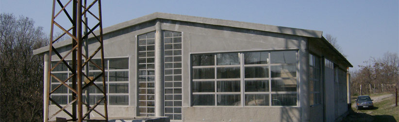 Factory from the outside