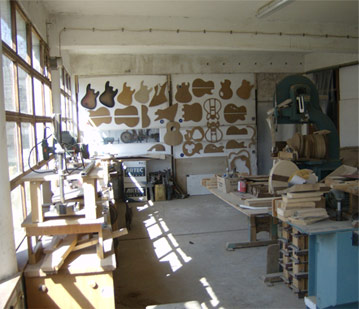 Workshop from the inside