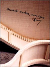 Belevski signed guitar