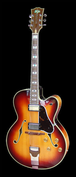 Belevski Guitars: Custom Built Jazz Guitar for Chris Tofield