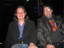 Chris Tofield with Joe Bonamassa