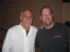 Chris Tofield with Larry Carlton