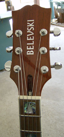 Belevski Guitars: Jo Marr and his custom Belevski Jazz Guitar