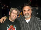 Belevski with Chris Tofield
