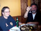 Belevski with Jo Marr
